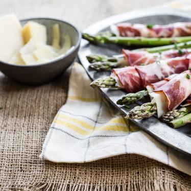 Alpine Asparagus Rolls