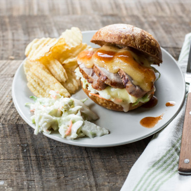 Carolina Pork Tenderloin BBQ Sandwich