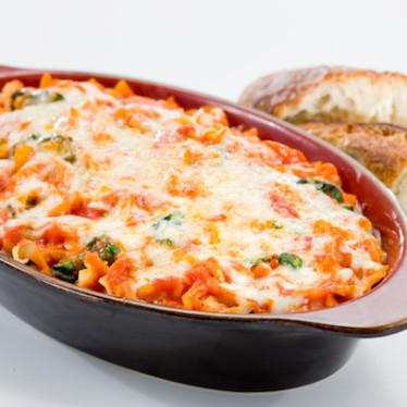 Spinach Lasagna Melt with Roasted Garlic Raclette