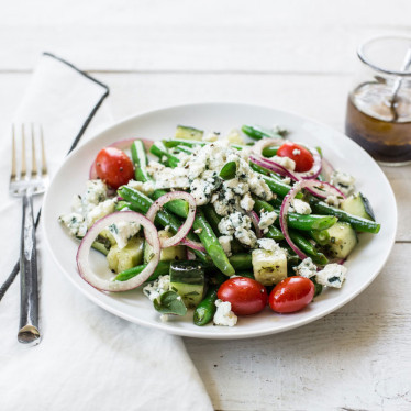 Green Bean & Buttermilk Blue Salad