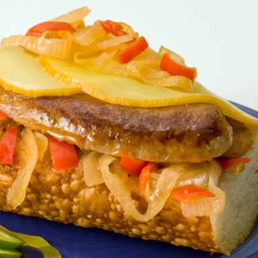 Chorizo & Smoked Gouda Sandwich