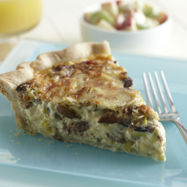 Grand Cru®, Mushroom, Leek & Bacon Quiche