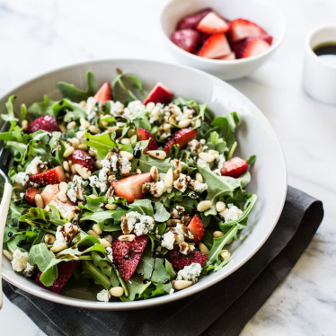 Strawberry Balsamic Salad with Buttermilk Blue®