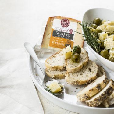 Marinated GranQueso and Olive Condite