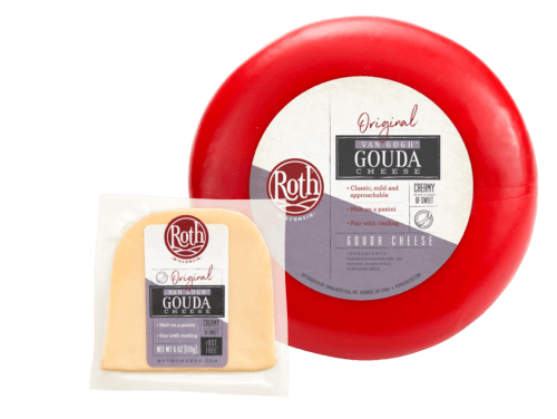 Roth Van Gogh Gouda cheese with wheel