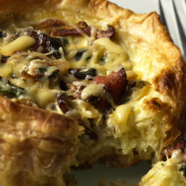 Vintage Van Gogh® and Vidalia Onion Tart