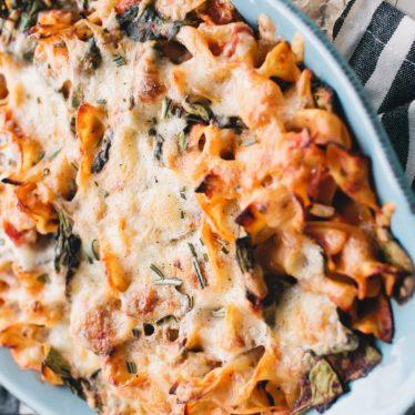 Spinach Fontina Lasagna Melt
