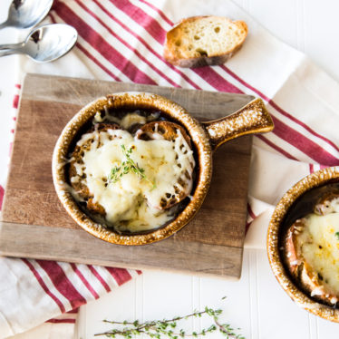 French Onion Soup with Grand Cru