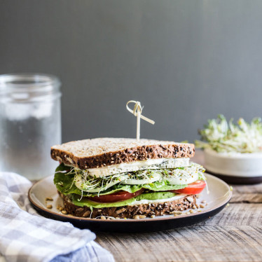 Veggie Lovers' Havarti Sandwich