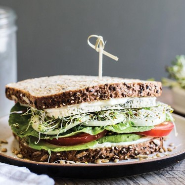 The Havarti Lover Veggie Sandwich
