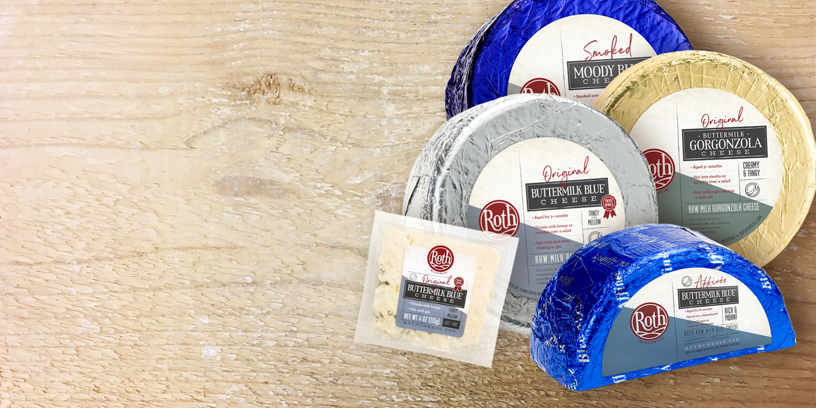 Bold, yet approachable.