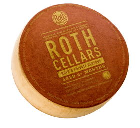 Roth's Private Reserve cheese wheel