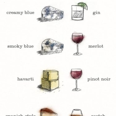 Cheese and cocktail pairings