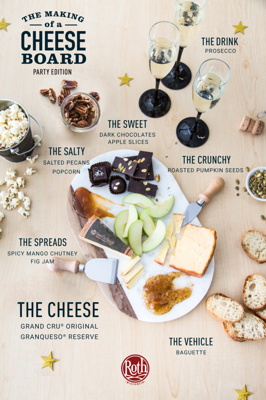 The Making of a Cheese Board: Party Edition