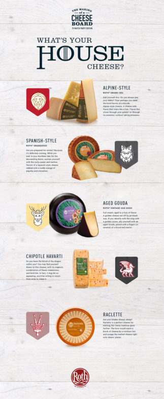 What's your house cheese?