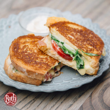 Tomato and dill havarti grilled cheese