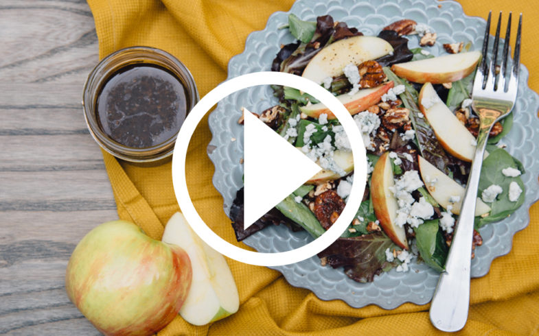 Honey Crisp Apple Salad