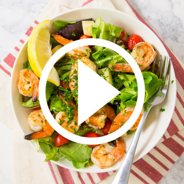 Shrimp salad video link