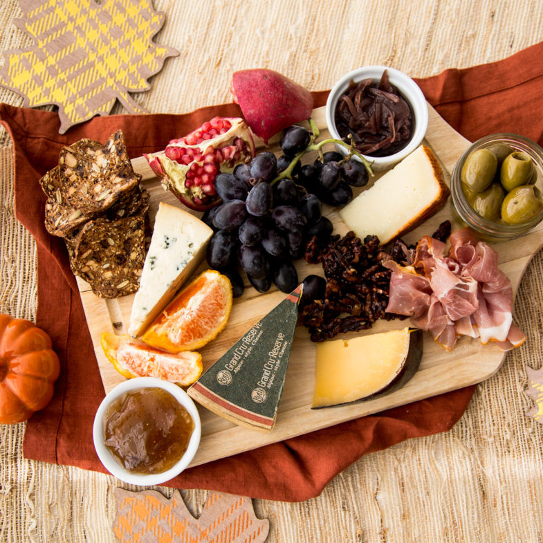 Autumn Cheeseboard