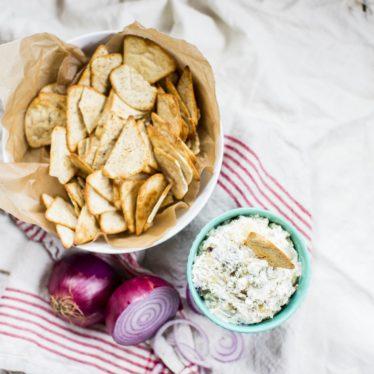 Pear & Buttermilk Blue Cheese Onion Dip