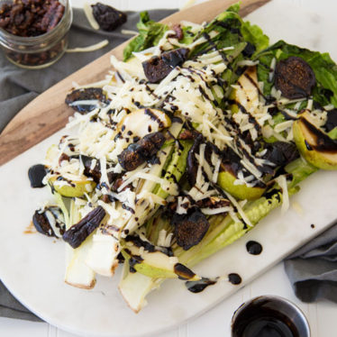 Seared Romaine and Fig Salad