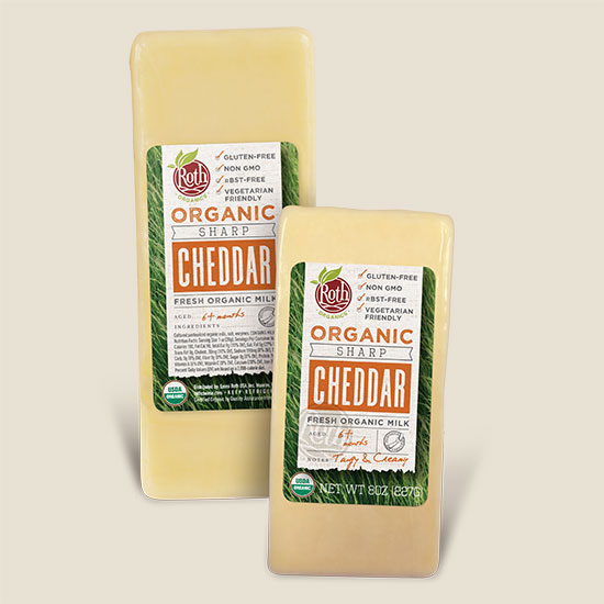 Roth Organic Sharp Cheddar
