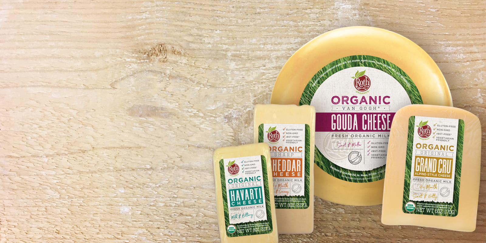 See how good organic can taste.