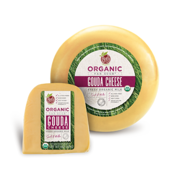 Roth Organic Gouda cheese