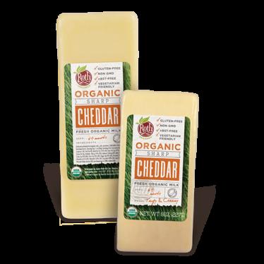 Roth Organic Sharp Cheddar cheese
