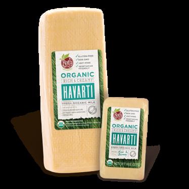 Roth Organic Havarti cheese
