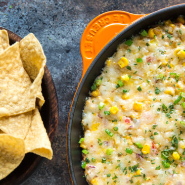 Hot & Cheesy Corn Dip