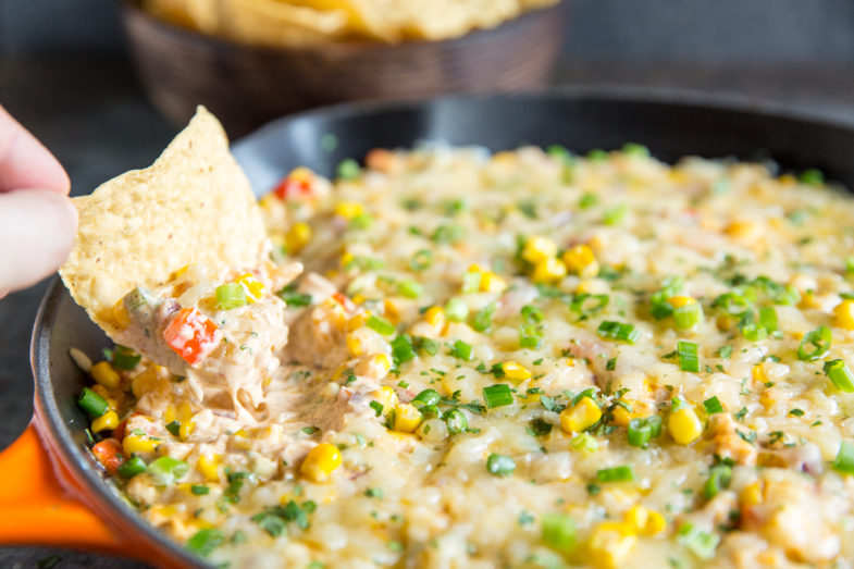 Hot & Cheesy Corn Dip with Roth GranQueso