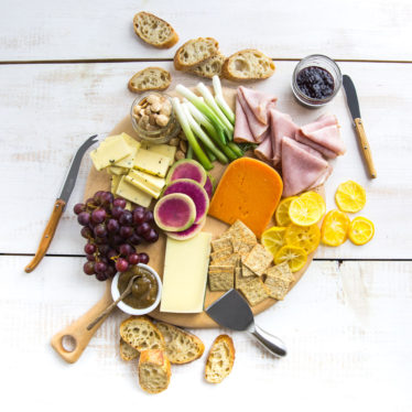How to Make a Spring Cheese Board
