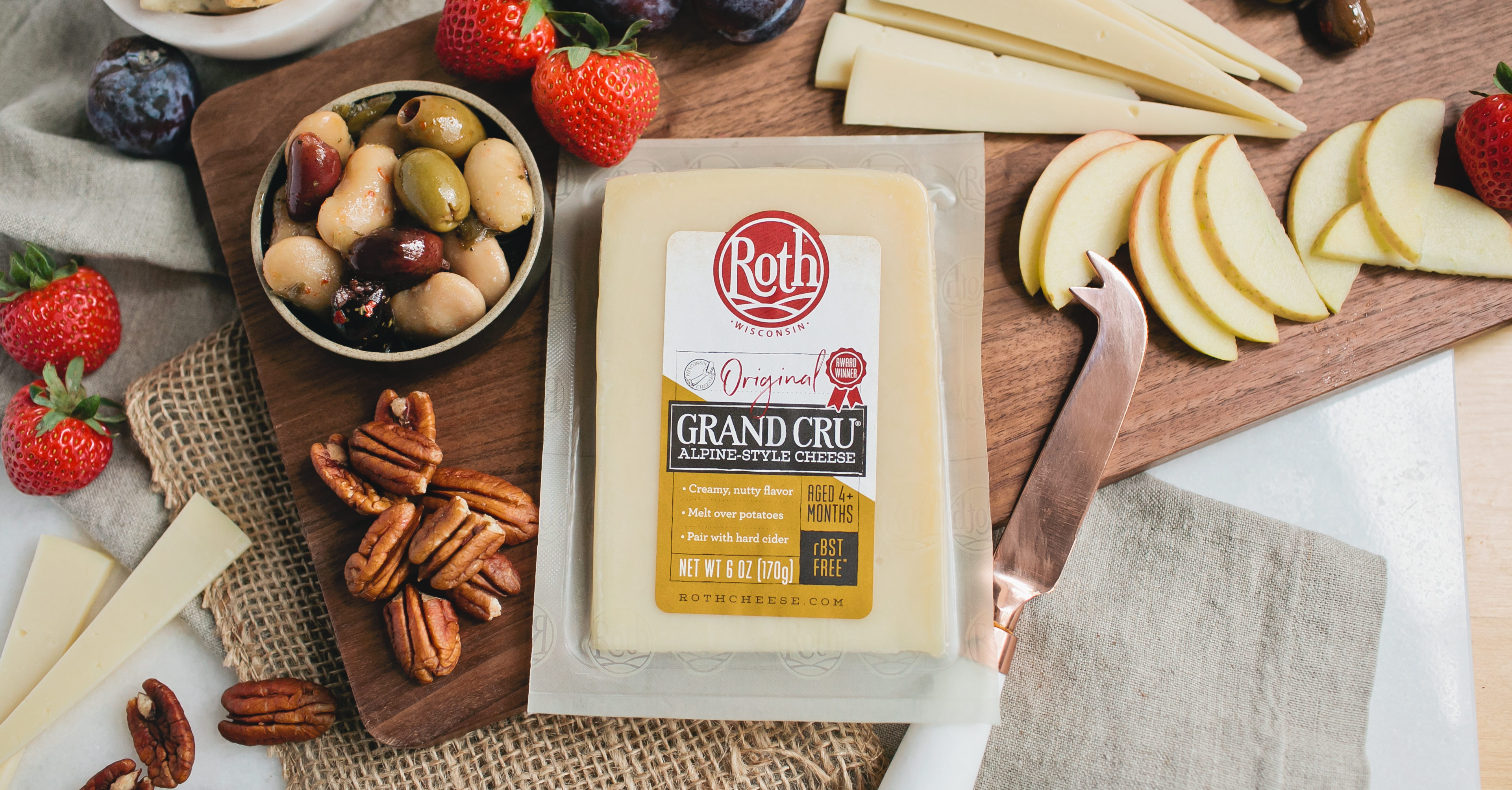 Specialty cheese for