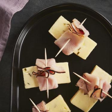 After School Snack: Dill Havarti + Ham Bites