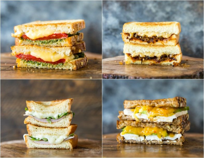 Grilled Cheese Four Ways