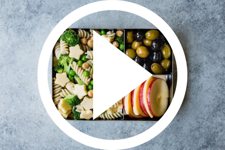 Dill Havarti Pasta Salad Lunch Box