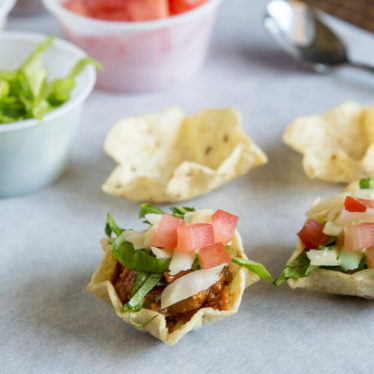 Turkey Taco Cups