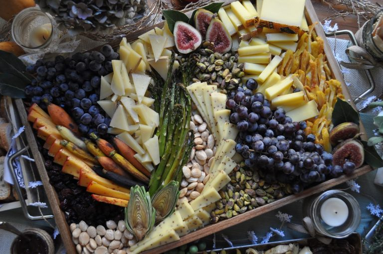 Arranging Your Holiday Cheese Board