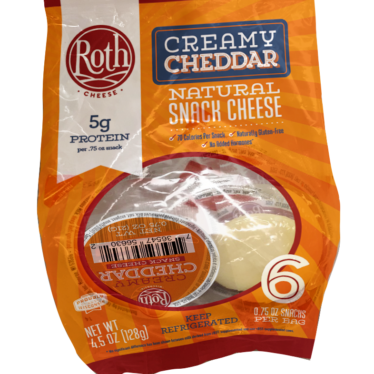 Creamy Cheddar Snack Cheese