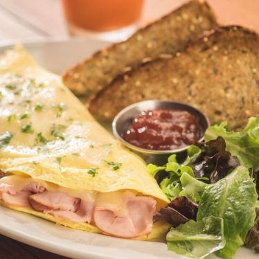 Ham and Grand Cru Omelet