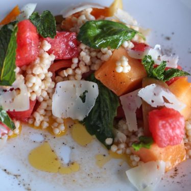 Tomato and Melon Salad
