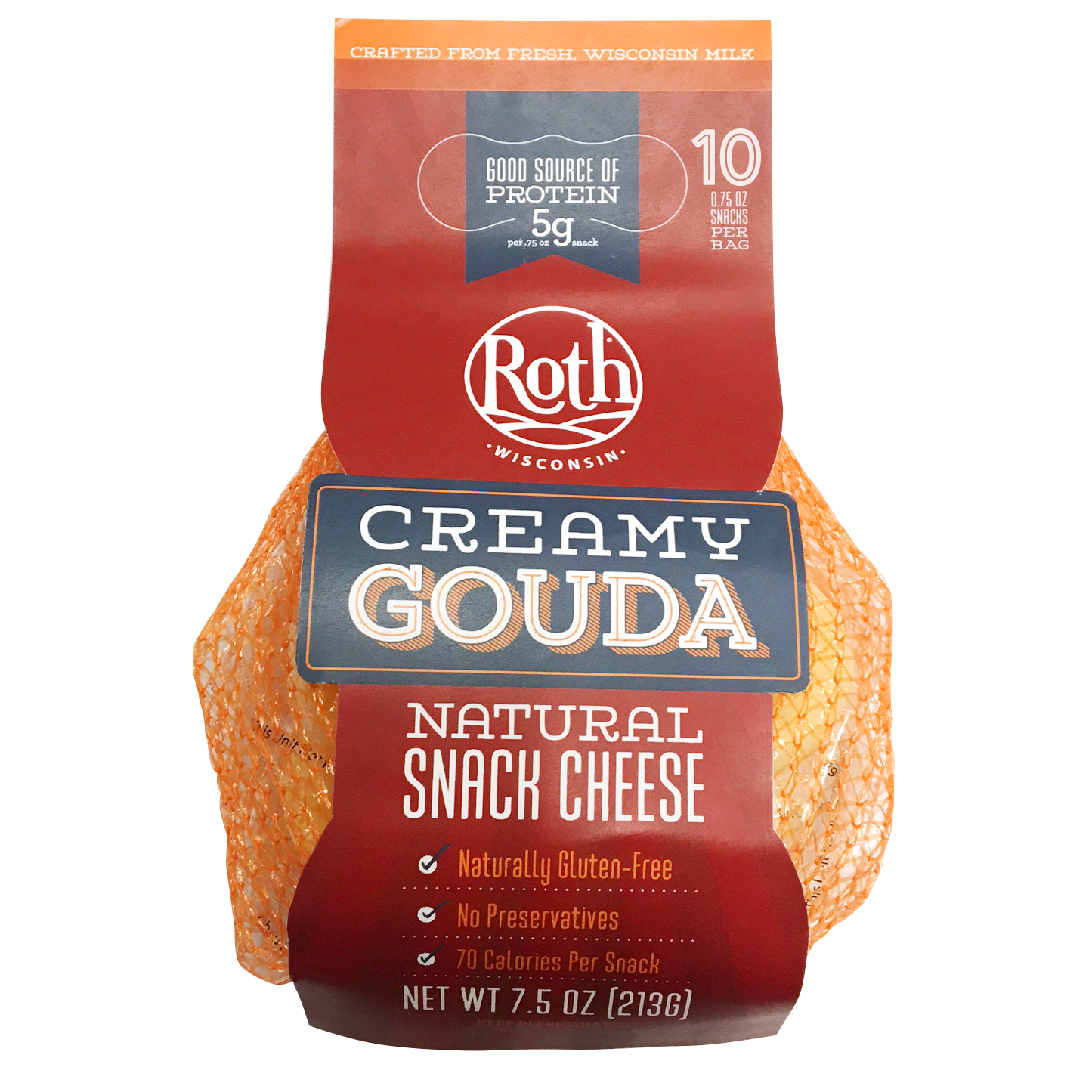Creamy Gouda Snack Cheese