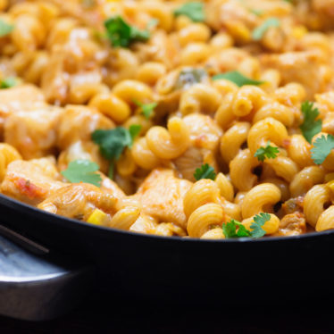 One-Pot Chicken Taco Pasta