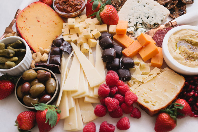 How to Make a Valentine's Day Cheese Board