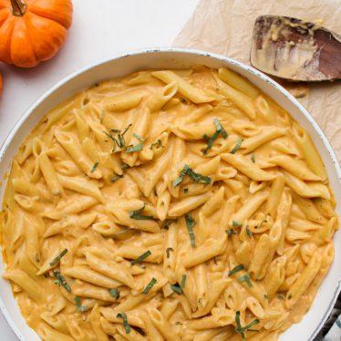30-Minute Pumpkin Gouda Pasta
