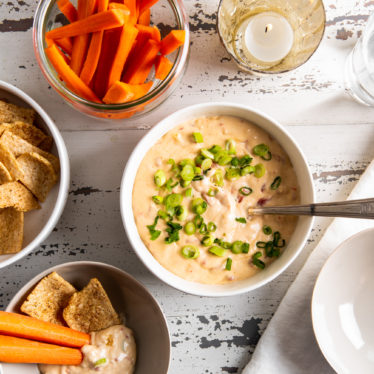 Slow Cooker Hot Pimento Cheese Dip