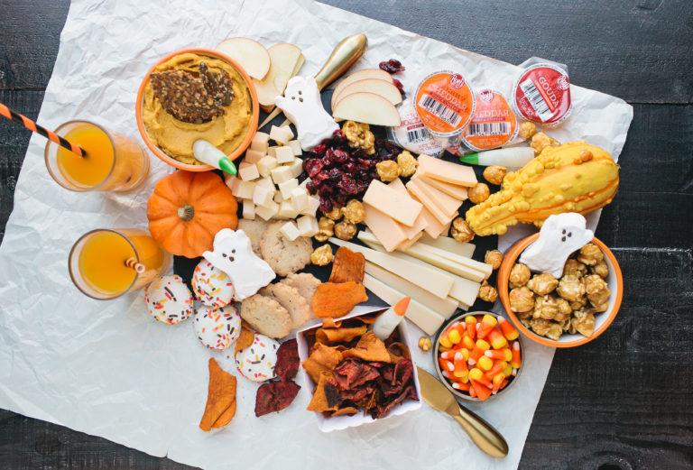 How to Make a Fun Halloween Cheese Board