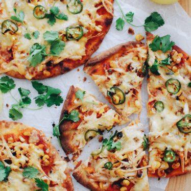 Easy Jalapeño Chicken Pizza