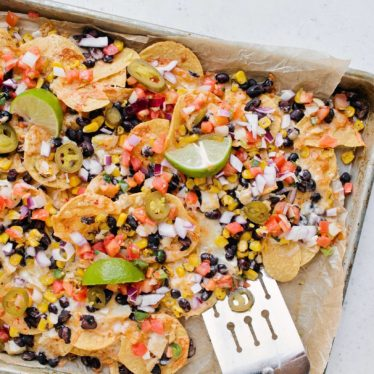 Easy Sheetpan Nachos